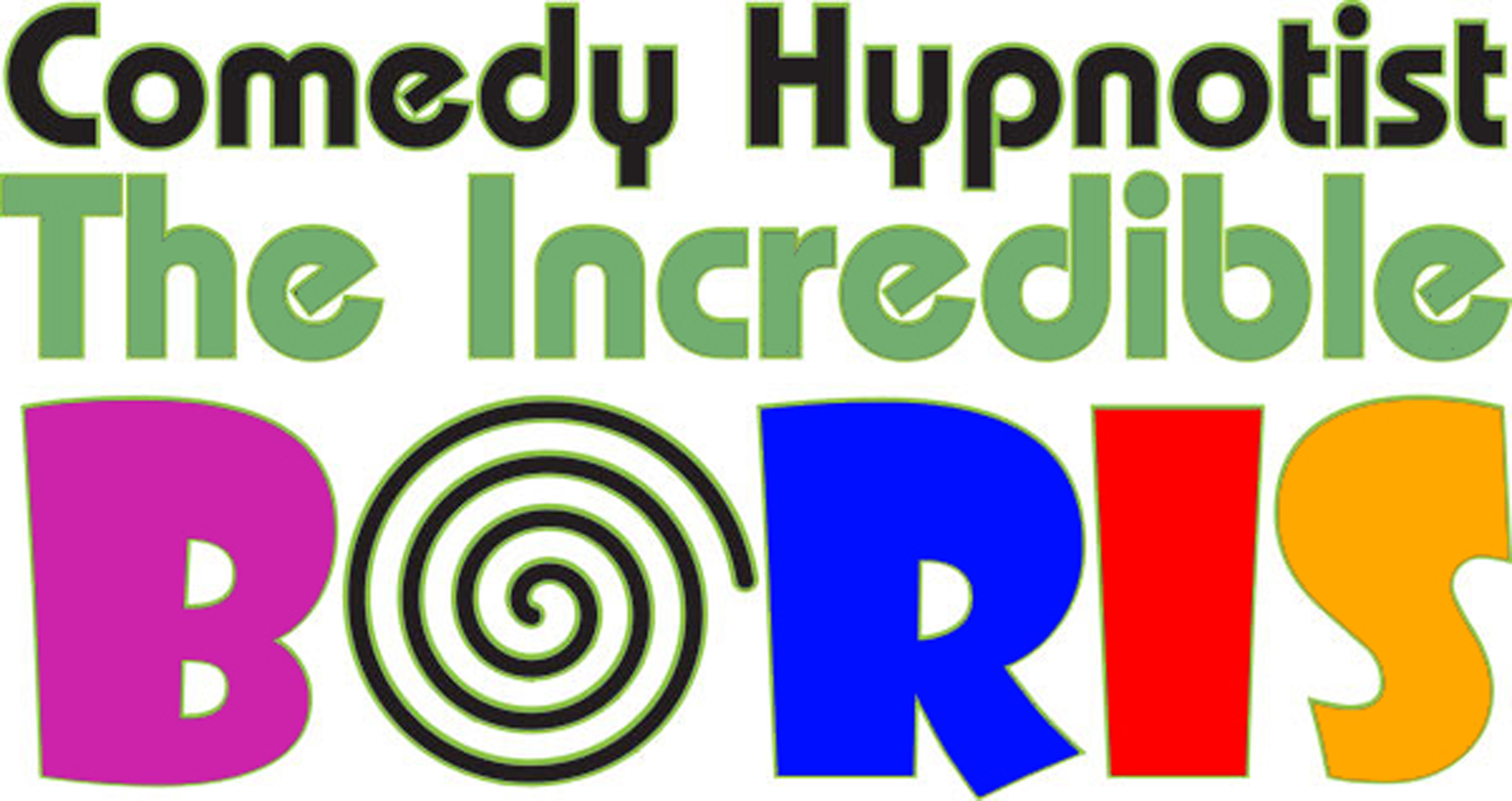 Comedy Hypnotist The Incredible BORIS logo