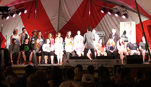 Hypnotist at the Fair