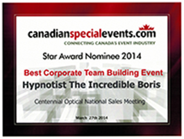 T2014 Best Corporate Team Building Event Nominee