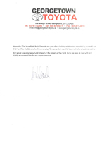 Toyota Reference Letter